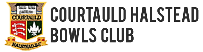 Courtauld Halstead Bowls Club Logo